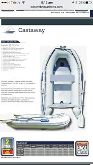 """FOR SALE - Aristocraft HSM-290 inflatable boat """"Castaway"""""""