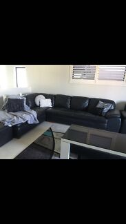 Wanted: 7 seater leather lounge plus wing chair