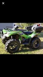 C&C cycles parting out only Kawi brute force 750 runs good