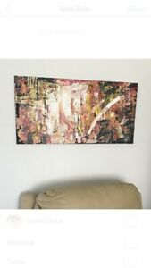 HUGE original abstract canvas art