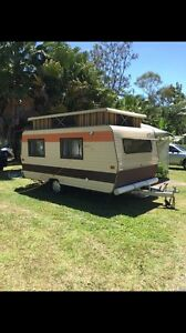 1988 Condor pop top caravan for sale South Golden Beach Byron Area Preview