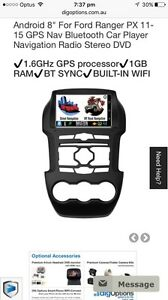 Ford Ranger PX 11-15 GPS Nav Bluetooth Navigation Radio  DVD Belfield Canterbury Area Preview