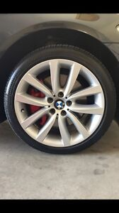 "19"" BMW 5-Series wheels"