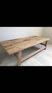 French provincial coffee table - new condition