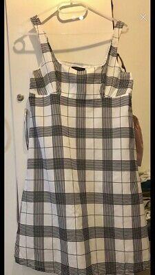 Burberry  Check  Dress - Size 8