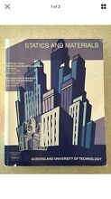 Static and Materials QUT  Textbook Springfield Lakes Ipswich City Preview