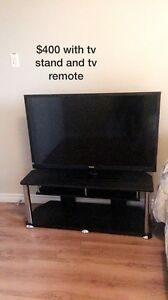 Haier TV with Stand