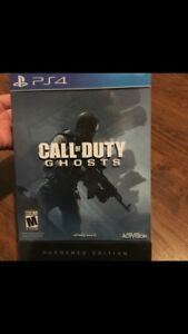PS4 COD Ghosts Hardened Edition