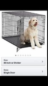 """48"""" XL iCrate Extra Large Dog Kennel"""