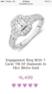 Engagement ring- She said no! Brand new! Perth Perth City Area Preview