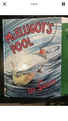 """RARE """"McELLIGOT'S POOL"""" BY DR. SEUSS Great CONDITION. Clean crisp pages"""