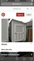 Experienced Carpenter needed to build a shed