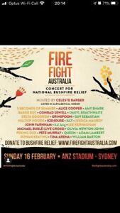 Fire Fight Australia - 2 x GOLD GA STANDING TICKETS