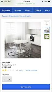 Brand New Ikea table white