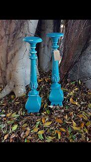 Beautiful Shabby Chic Candle Sticks