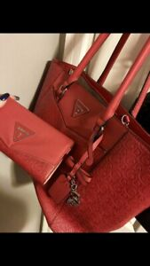 Red or Pink GUESS purse & Wallet