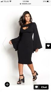"Plus size Rebdolls "" make it it all bell midi dress"""
