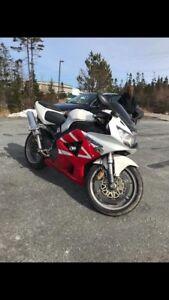 2001 Honda cbr 929