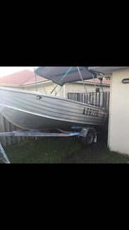 4.1 allycraft rino 40hp Yamaha  Coomera Gold Coast North Preview