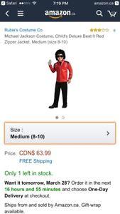 Halloween Costume - Michael Jackson Thriller