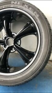 """18"""" Staggered set of BOSS 338 Wheels and tires"""