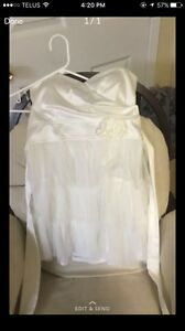 Grad/ prom White dress