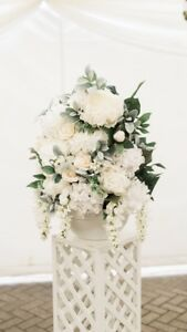 Wedding Decor - large floral arrangements