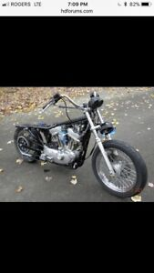 WANTED - Harley Davidson Sportster 883-1200
