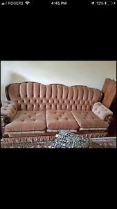 Vintage sofa 3pc set