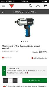 Master 1/2-in Composite Air Impact Wrench