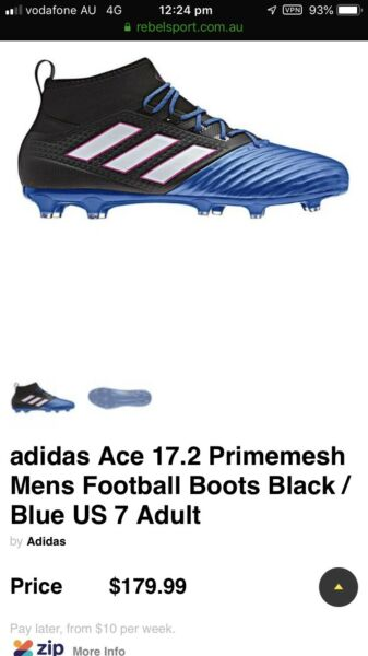 027d0ad0963 adidas Ace 17.2 Primemesh Mens soccer Boots US 12   47  UK 11.5 Adult