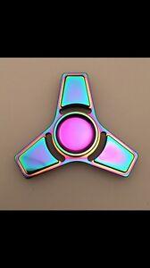 Metal Rainbow fidget spinner Kogarah Rockdale Area Preview
