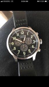 Filson x Shinola Mackinaw Field Watch