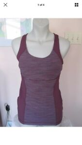 Lululemon Energy Tank Size 8 Wee Are From Space September Plum