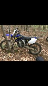 yz250f with papers