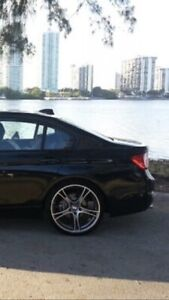 """BMW 20"""" PERFORMANCE MAGS + TIRES **MINT CONDITION**"""