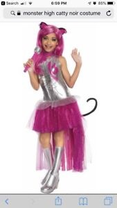 Monster High Catty Noir Costume without the wig