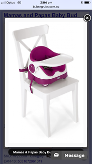 High chair - Mumas and Papas feeding chair