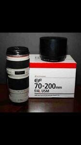 Trade: 70-200mm F4 L glass