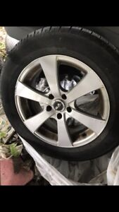 Selling good  All Season Summer Tires on Rims