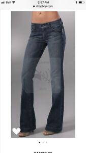 Seven for All Mankind Charlize flare women's jeans Sz 26