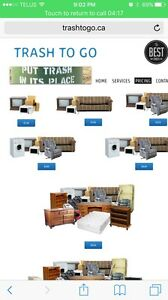 Great Price Garbage & Junk Removal. Call or text 780-984-4977