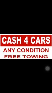Wanted: Cash for Unwanted car & towing service