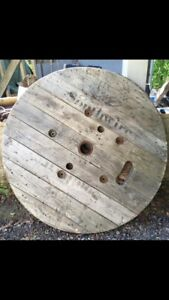 Wooden Spool End