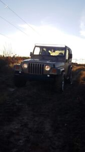 2000 Jeep TJ (needs work)