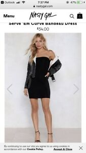 New nasty gal dress bought for $34 size M