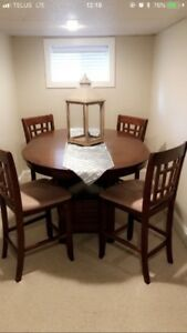 Table and Chairs (Tall)