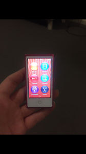 Pink 7th gen iPod nano Clarence Gardens Mitcham Area Preview