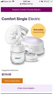 Avent Natural breast pump (single electric)