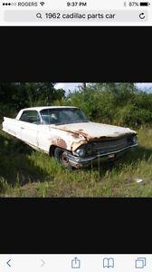 Wanted 1961 or 1962 Cadillac